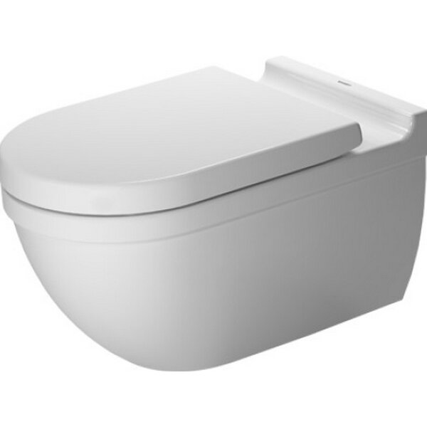 Starck Wall Mounted Durfix Washdown Dual Flush Elongated Toilet Bowl by Duravit