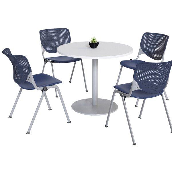 Round Breakroom Table and Chair Set by KFI Studios KFI Studios
