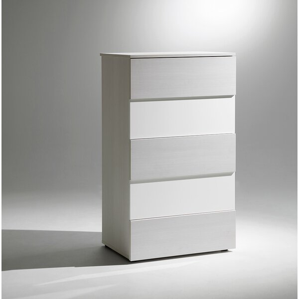 Sharon 5 Drawer Chest by YumanMod