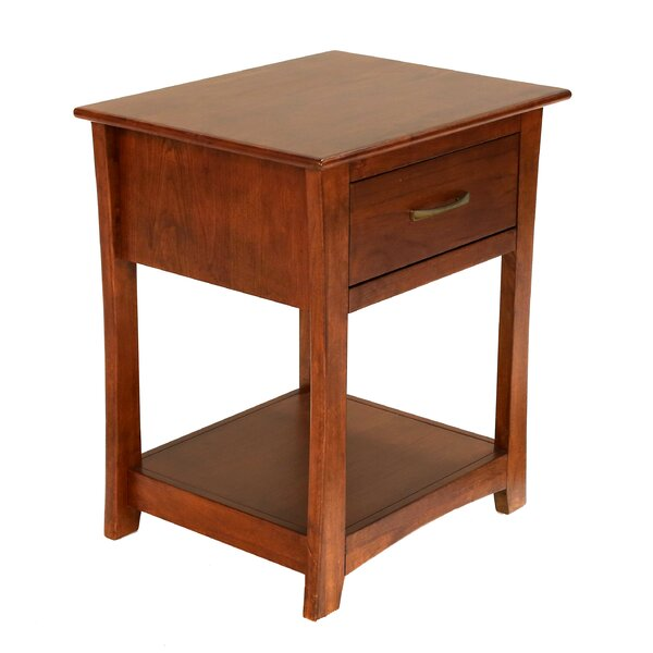 Barten 1 Drawer Nightstand by Darby Home Co