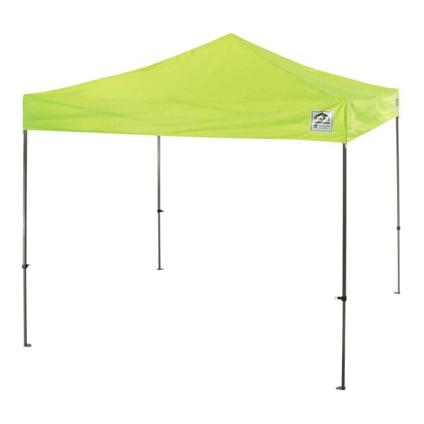 10 Ft. W x 10 Ft. D Steel Pop-Up Canopy by Ergodyne