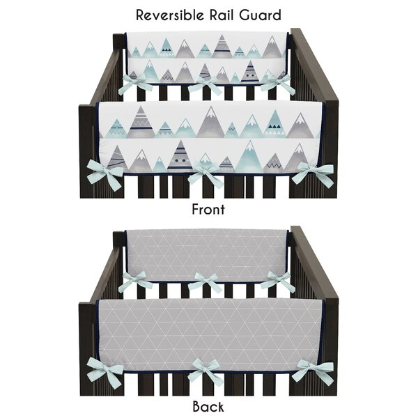 Mountains Side Crib Rail Guard Cover (Set of 2) by Sweet Jojo Designs