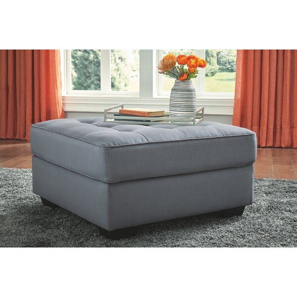 Redelong Tufted Ottoman by Ebern Designs