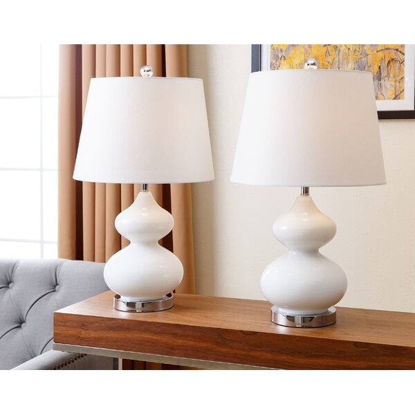 Patroclus 24 Table Lamp (Set of 2) by Mercury Row