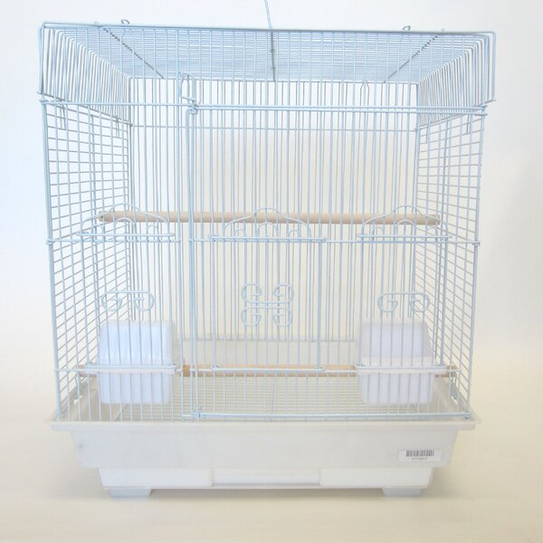 Square Flat Top Small  Bird Cage by YML