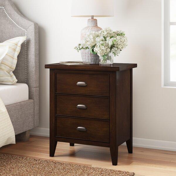 Stonington 1 Drawer Nightstand by Three Posts