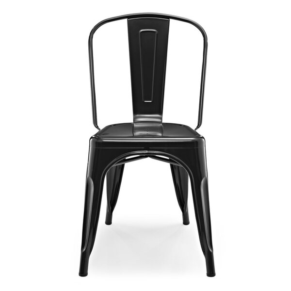 Skiles Tolix Dining Chair by Williston Forge