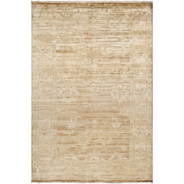 Talence Biscotti/Ivory Oriental Area Rug by One Allium Way