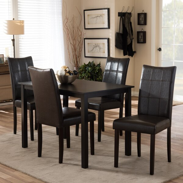 Mcshan 5 Piece Dining Set by Latitude Run