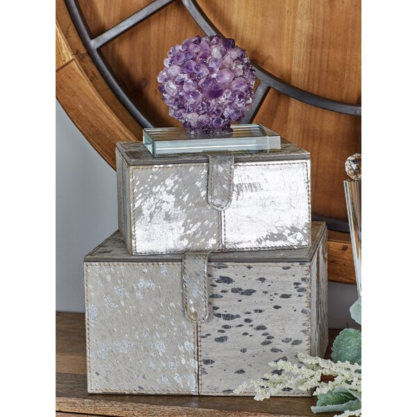 2 Piece Decorative Box Set by Cole & Grey