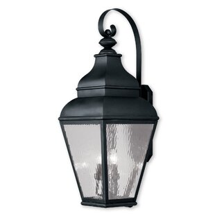 Best Review Southport 2-Light Outdoor Wall Lantern By Darby Home Co