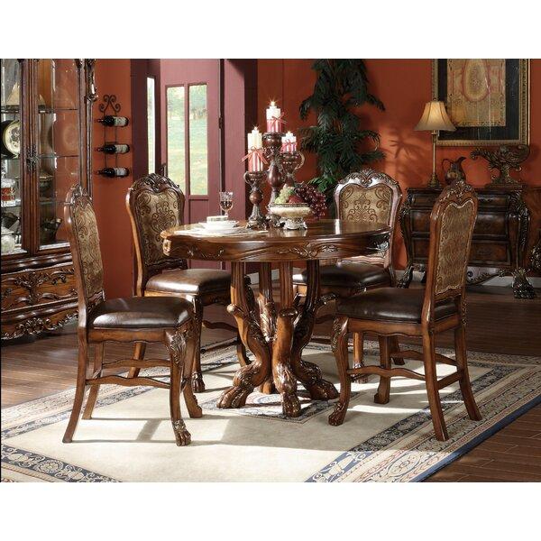 Steiner 5 Piece Counter Height Dining Set by Astoria Grand