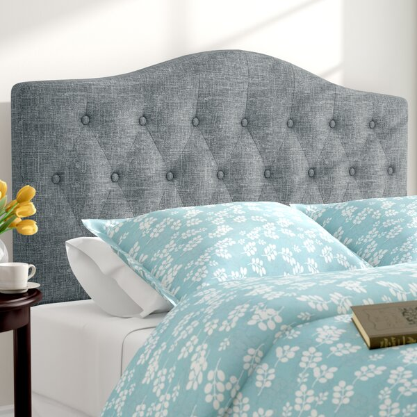 Sagers Upholstered Panel Headboard by Three Posts
