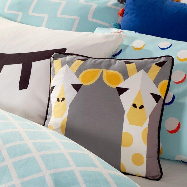 Houck Giraffe Throw Pillow by Latitude Run