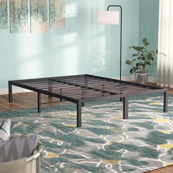 Frazier 14 Standard Profile Heavy Duty Platform Bed [Alwyn Home - W003098815]