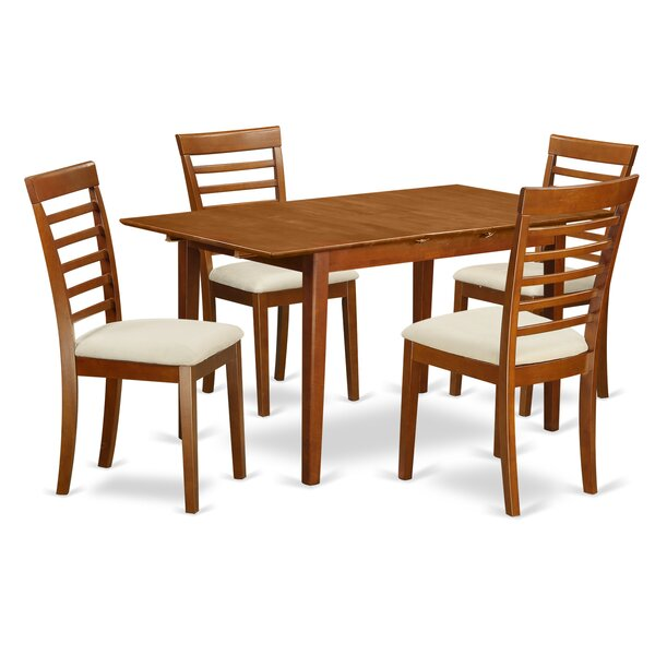 Picasso 5 Piece Extendable Dining Set by Wooden Importers