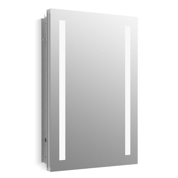 Verdera Lighted Medicine Cabinet, 20 x 30 with Lighting by Kohler