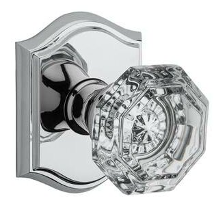 Crystal Double Dummy Door Knob with Traditional Ar