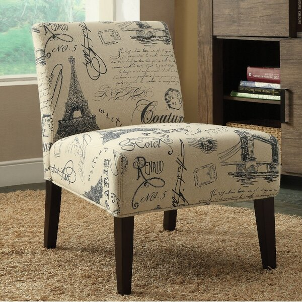 Stancil Wooden Slipper Chair by Bay Isle Home