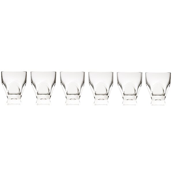 Diamonte 8 oz. Crystal Cocktail Glass (Set of 6) by Lorren Home Trends