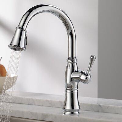 Kitchen Faucet Single Handle Docking Chrome photo