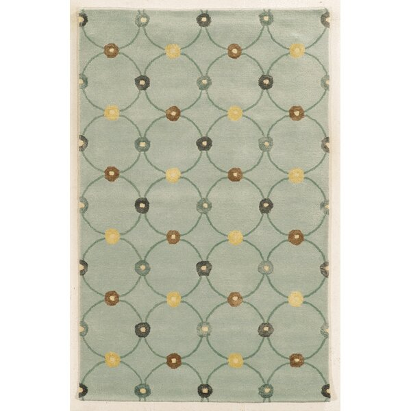 Furness Hand-Tufted Light Blue Area Rug by Meridian Rugmakers