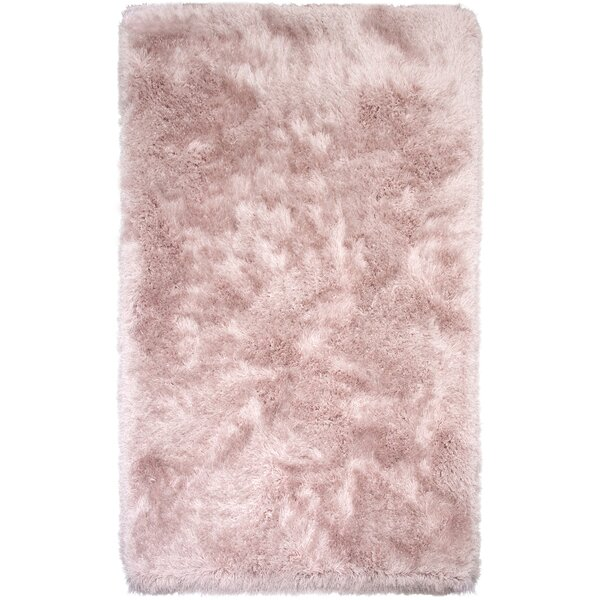 Somerville Hand-Tufted Pink Rose Area Rug by House of Hampton
