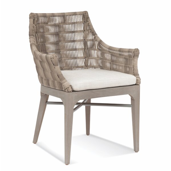 Gulfport Patio Dining Chair with Cushion by Braxton Culler Braxton Culler