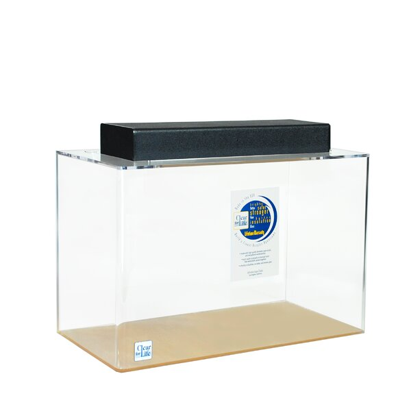Mulligan Rectangle Acrylic Aquarium Tank by Tucker Murphy Pet