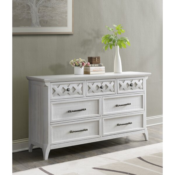 Jesse 7 Drawer Double Dresser by Breakwater Bay