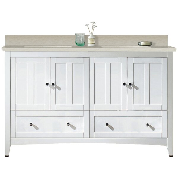Artic 59 Plywood-veneer Single Bathroom Vanity Set by Longshore Tides