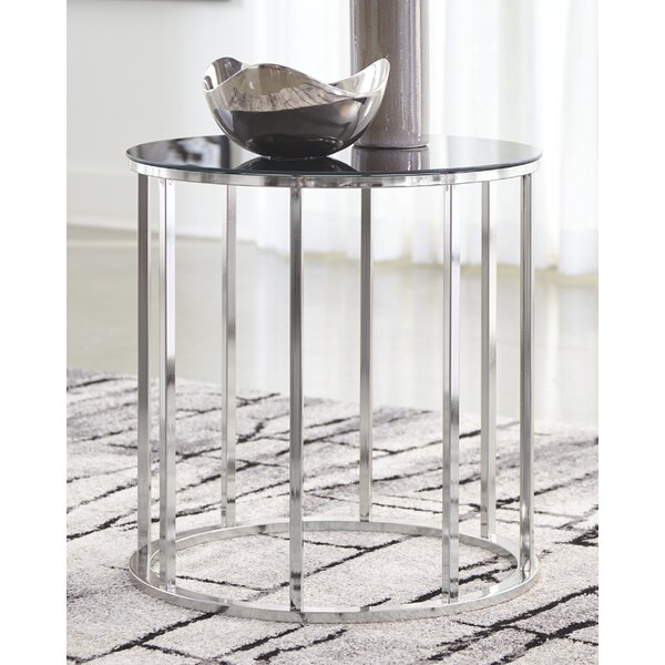 Carlito End Table By Wrought Studio