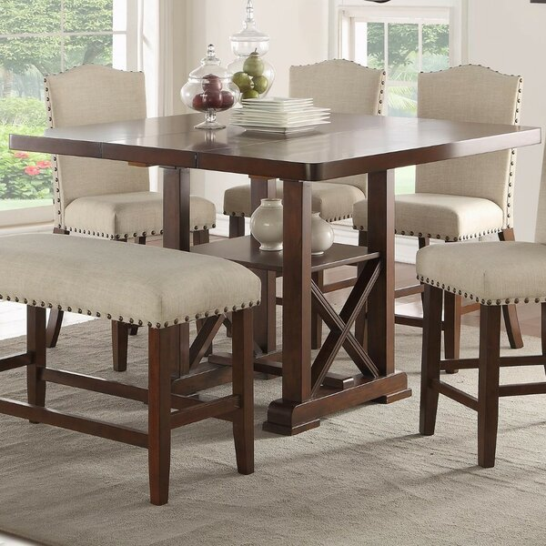 Merrill Counter Height Dining Table by Gracie Oaks