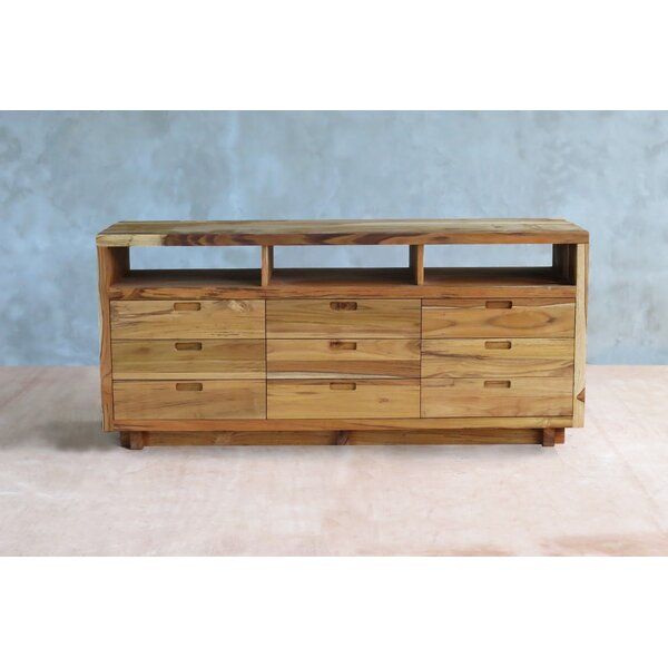 Maderas 9 Drawers Double Dresser by Masaya & Co
