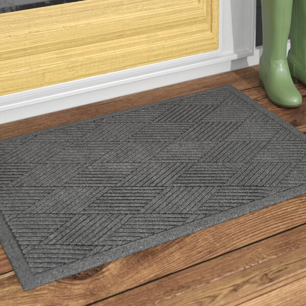 Rectangle Diamond Doormat by Rebrilliant