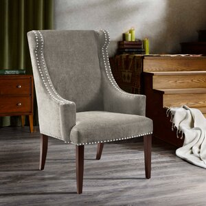 Farley High Back Wingback Chair by Alcott Hill