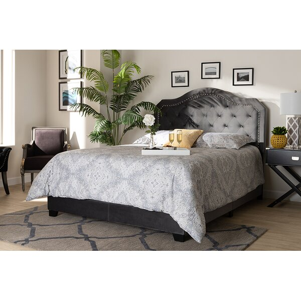 Renn Tufted Upholstered Standard Bed by House of Hampton