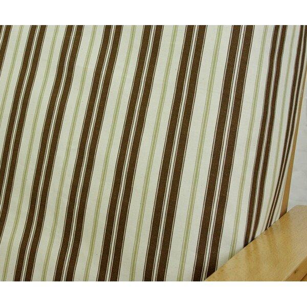 Hampton Stripe Box Cushion Futon Slipcover by Easy Fit