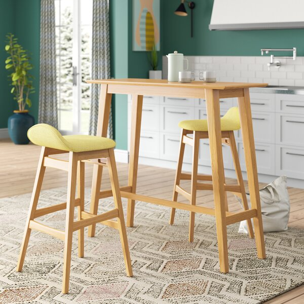 Adriana 3 Piece Pub Table Set By Langley Street Best #1