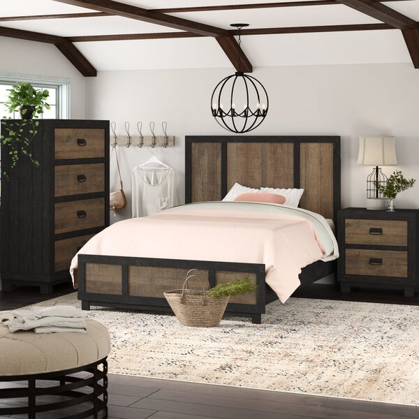 Llewellyn Standard 3 Piece Bedroom Set by Gracie Oaks