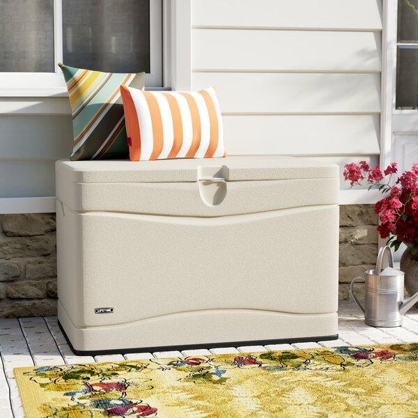 Outdoor Storage 80 Gallon Plastic Deck Box by Lifetime Lifetime