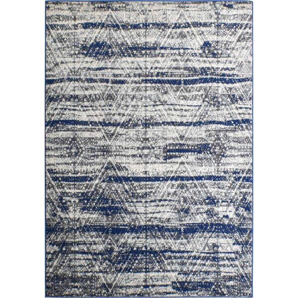 Michaela Gray Area Rug by Bungalow Rose