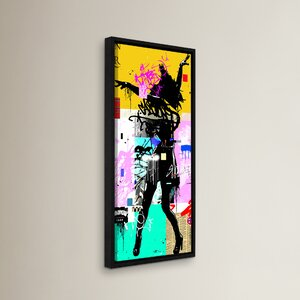 Shake N Bake Framed Graphic Art by Wrought Studio