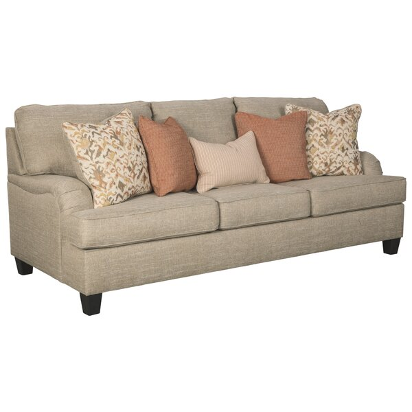 Cardoon 92'' Charles Of London Sofa By Red Barrel Studio