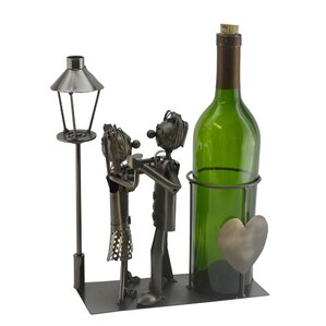 Lovers by Light Post 1 Bottle Tabletop Wine Rack by Three Star Im/Ex Inc.