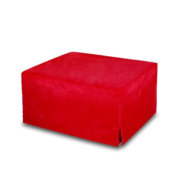 Home & Outdoor Tapia Sleeper Bed Tufted Ottoman