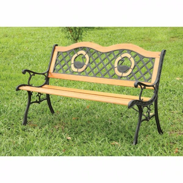 Beallsville Traditional Garden Bench by Astoria Grand