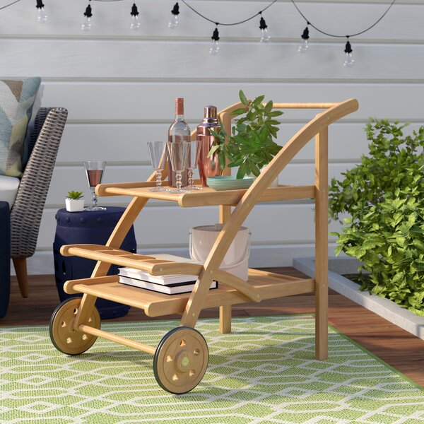 Drachten Tea Bar Serving Cart by Laurel Foundry Modern Farmhouse
