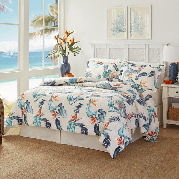 Birdseye View Cotton Reversible Comforter Set