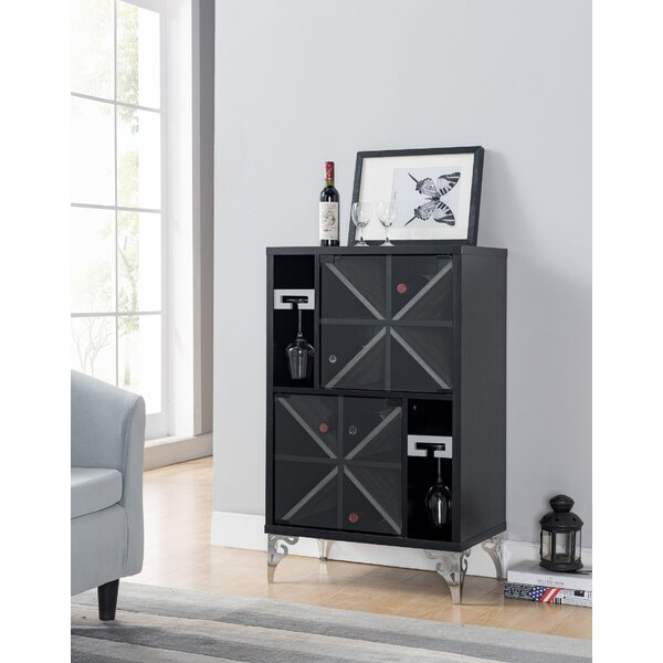 Tellis Wine Bar Cabinet by Mercer41 Mercer41